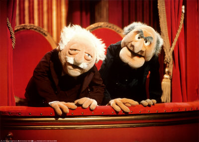 2 OLD MEN ON MUPPET SHOW