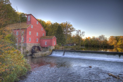 The Red Mill in Clinton by _Robert C_