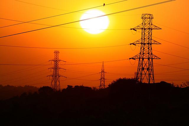 Madhya Pradesh Electricity Board (MPEB) area in Jabalpur, India.
