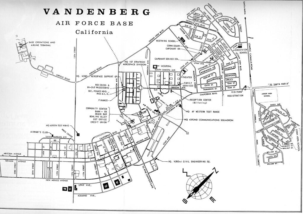 vandenberg afb map 1968