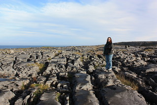 Phoebe Holmes on the Burren