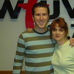 Mason Jennings with Claudia Marshall at WFUV