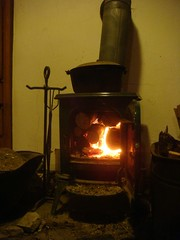 Bedroom woodstove