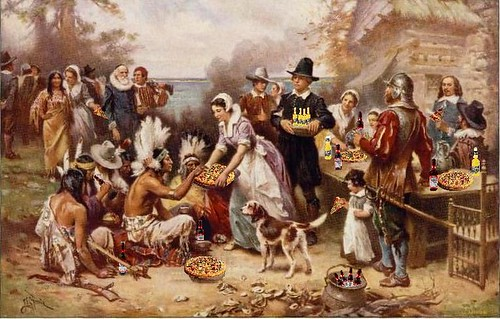 First Fun Thanksgiving, after J.L.G. Ferris