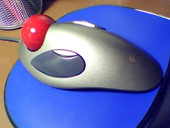 computer component, electronic device, mouse, blue,