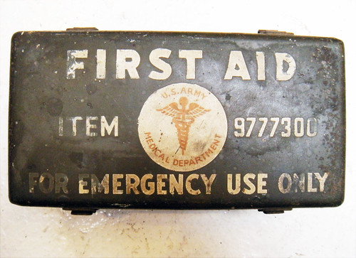 First Aid, Second World War