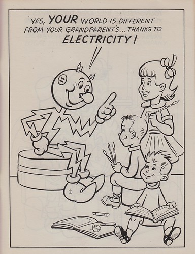 Electricity printable coloring