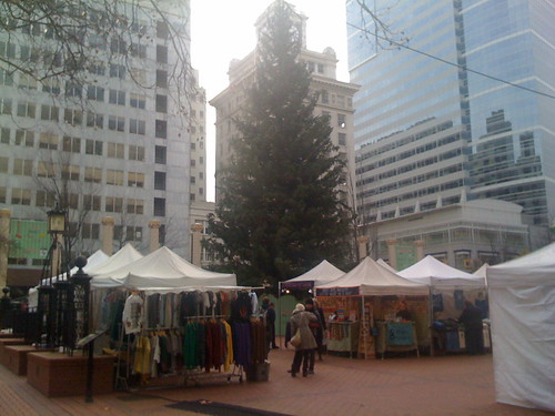 Christmas Tree / Holiday Tree Pioneer Corthouse Square, Portland, Oregon