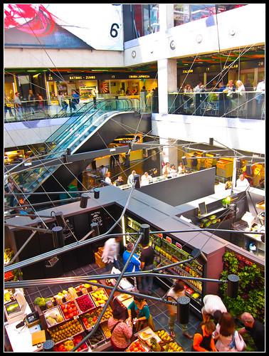 El mercado más animado y bonito de Madrid