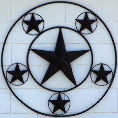 Texas stars by Leo Reynolds
