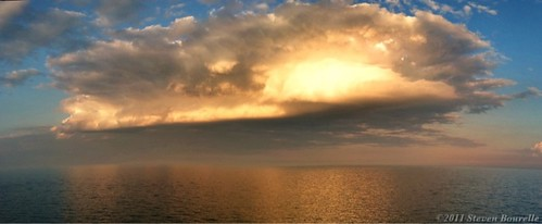 sunset wisconsin lakemichigan thunderstorm racine iphone kenosha