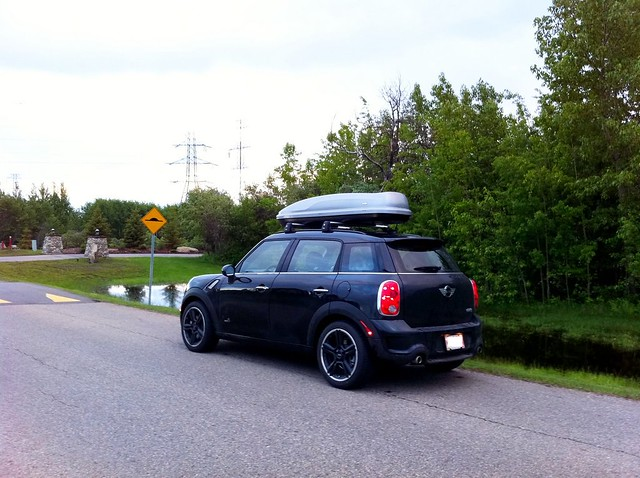 Mini Countryman Roof Rack And Box Flickr Sharing
