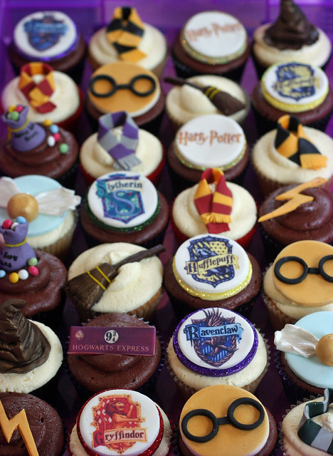 Harry Potter Cupcakes set
