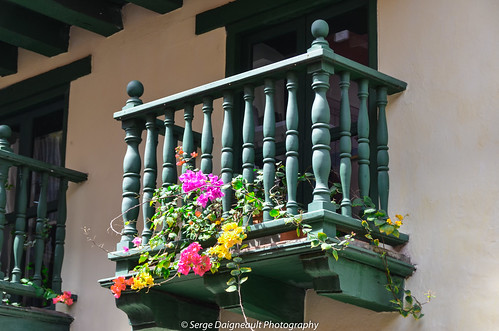 ~ Wooden Balcony ~