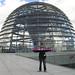 Andrea Sampei alla cupola del Reichstag, il parlamento tedesco by calciocatania