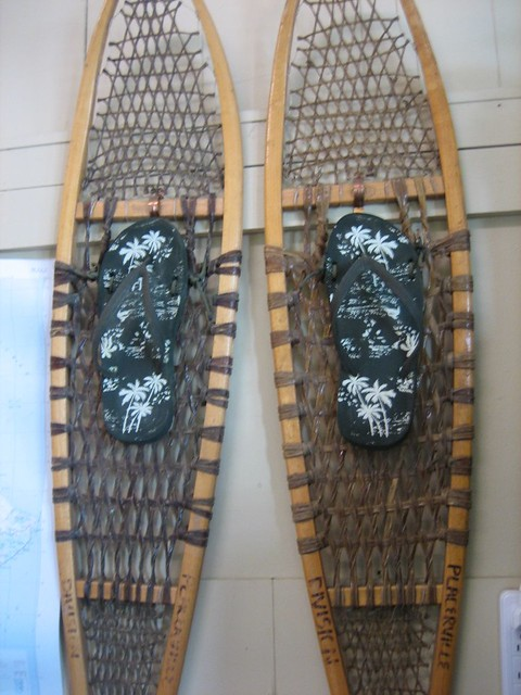 flip flop snow shoes | Flickr - Photo Sharing!