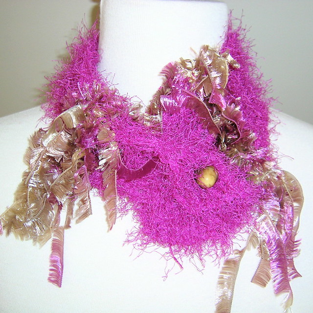 Hot Pink Fizz and Feathers