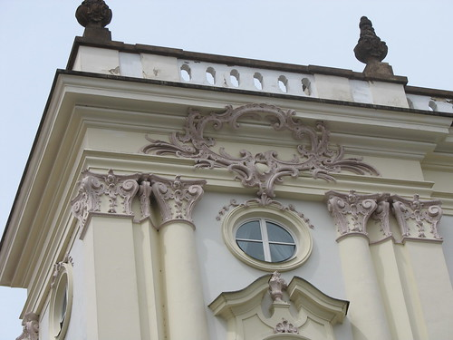 Detail, the Archbishop's Palace, in Hradcanske Namesti