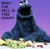 Cookie Monster Fruit