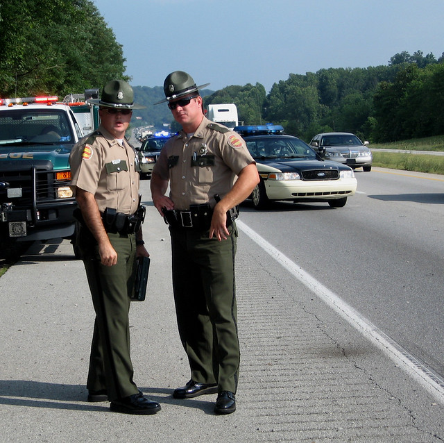 State Farm Report Accident >> Tennessee State Troopers | Two THP Troopers discuss a car ac… | Flickr