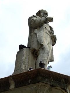 Cobden statue 的形象. london statue cobden