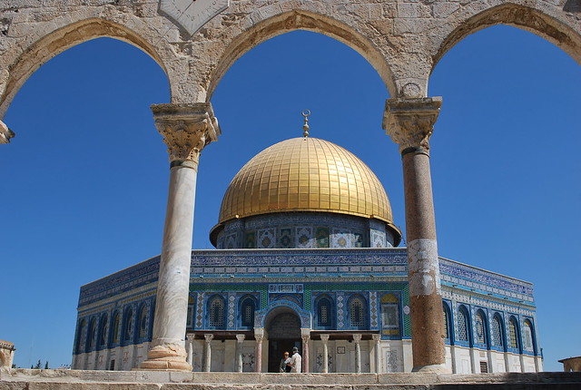 Dome of the Rock by CC user chadica on Flickr