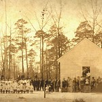 Daniels chapel in Wayne County, North Carolina; ca 1900