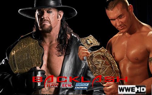 Undertaker vs Randy Orton (Wrestlemania Rematch ...