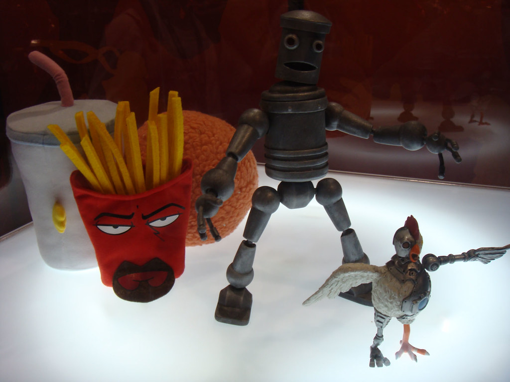 Aqua Teen Hunger Force Figures Review Infinite