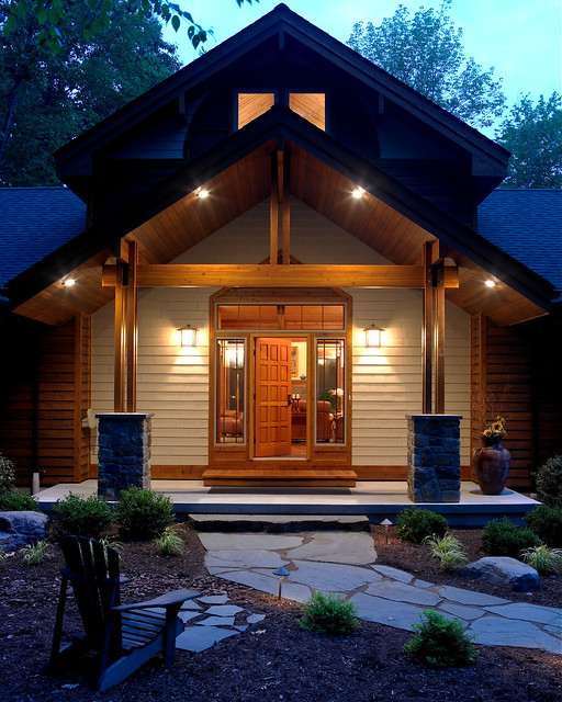 entry to lindal cedar home in new jersey lindal cedar home