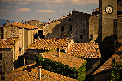 Roccastrada Italy  city images : Roofs of Roccastrada, Italy
