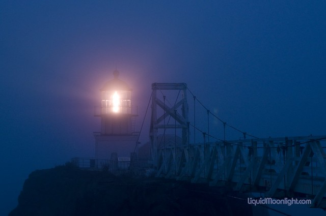The beacon shine clear - Point Bonita Lighthouse California
