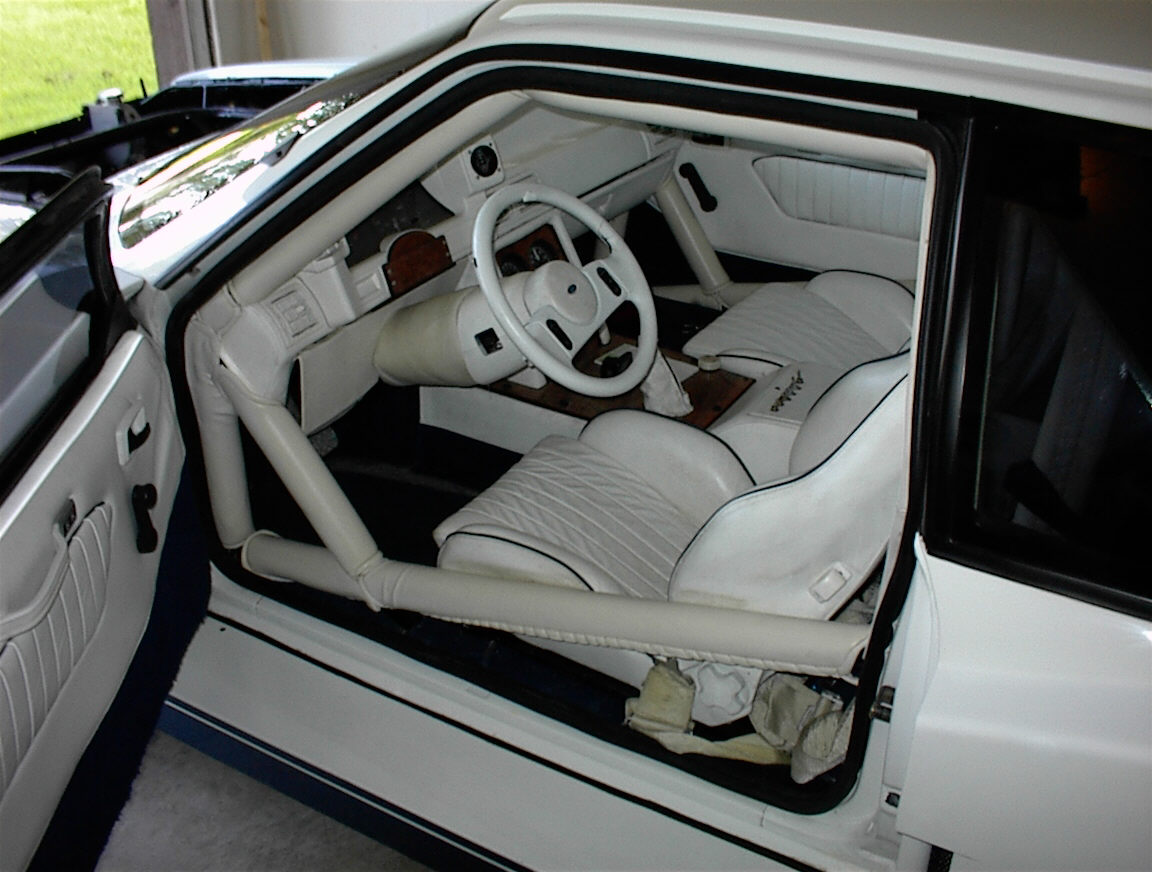 White Fox Body Gtr Mustang Interior A Photo On Flickriver