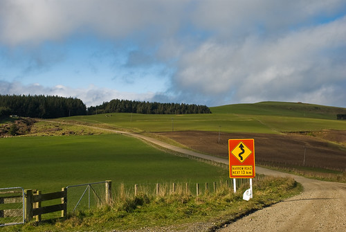 ... another fun work location, Southland, New Zealand, 26 August 2008