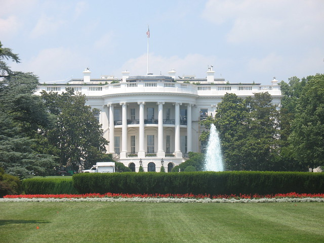White House (Back View or Front View?) | Flickr - Photo ...