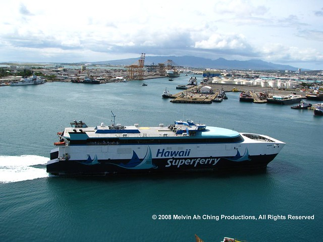 Hawaii Superferry 10-12-08