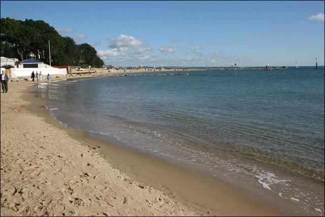Sandbanks beach