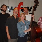 Eilen Jewell with John Platt at WFUV