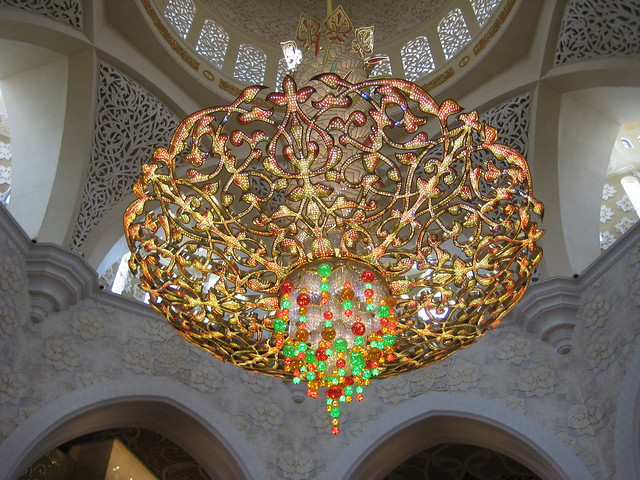 What does a $10 million chandelier look like?