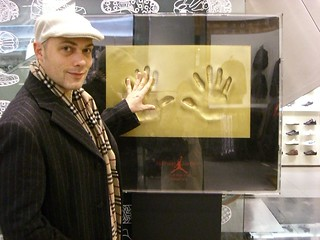 MJ Handprints + me
