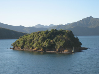 Small Island In Picton Harbor
