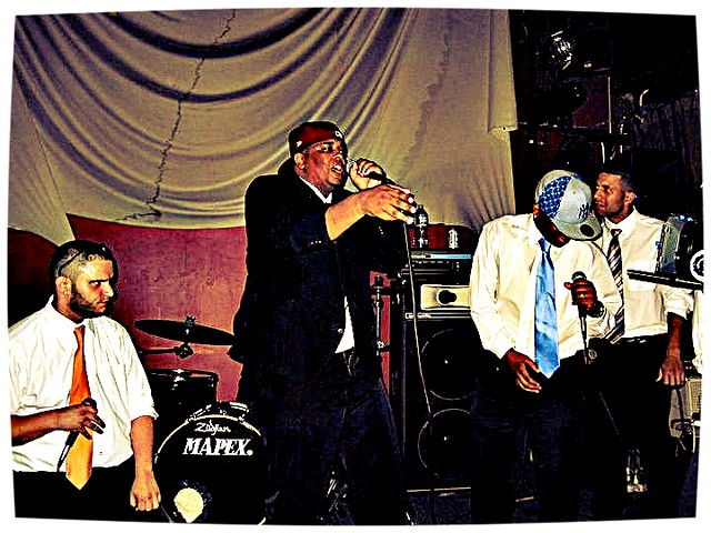 Kese Soprano And LiveViaSatellite Performing At The Production Lounge in Brooklyn, NY
