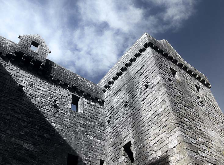 Photography - Hermitage Castle by Nicholas M Vivian