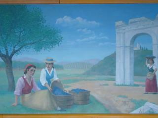 Papa Gino's Mural