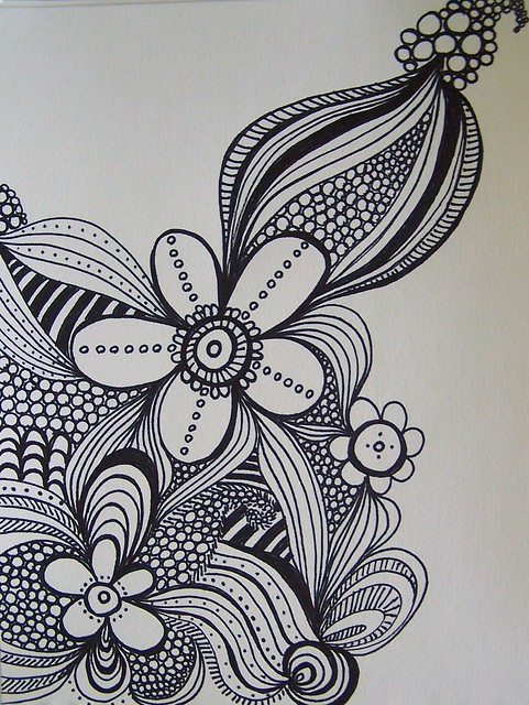 sharpie doodle | Flickr - Photo Sharing!