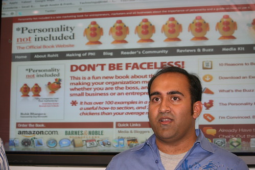 Rohit Bhargava Talks at Network Solutions
