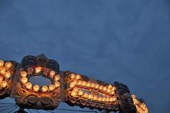 Carousel mets sky