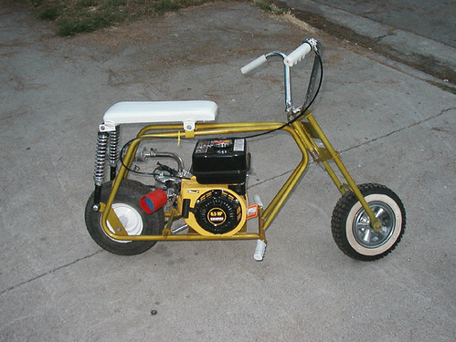 Vintage Mini Bike Chopper : Vintage minibikes page the h a m b