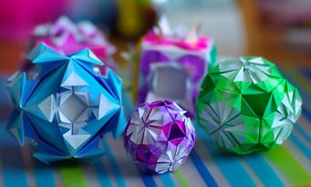Decorative Cubes/Kusudamas