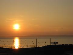 Sunset Morecambe Beach